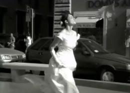 """Universal Music Italia - Roma, 2003 - Super 16mm (1:1.85) – B/N. - 3'30"""" Fotografia: Federico Salsano - Produzione:  Milonga, Milano"""